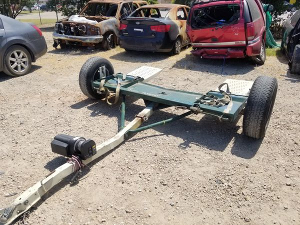 Car Tow Dolly with electric winch for Sale in Dallas, TX - OfferUp