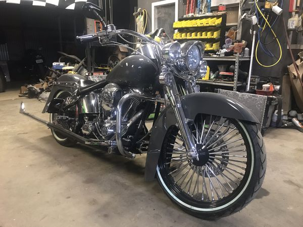 04 Cholo Style Harley Davidson Softail For Sale In San