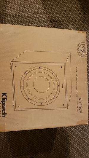 New and Used Klipsch subwoofer for Sale in Joliet, IL - OfferUp