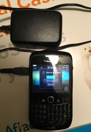 BlackBerry Curve - Cricket Wireless service for sale  Tulsa, OK