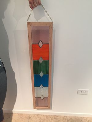 Stained glass wall decor for Sale in Scottsdale, AZ