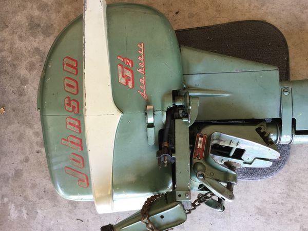 Vintage Johnson outboard boat motor for Sale in Turlock, CA - OfferUp