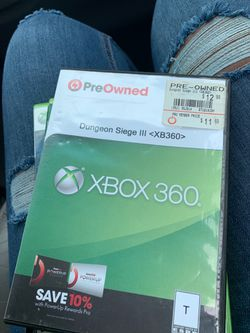 Dungeon Siege III Xbox 360 Thumbnail
