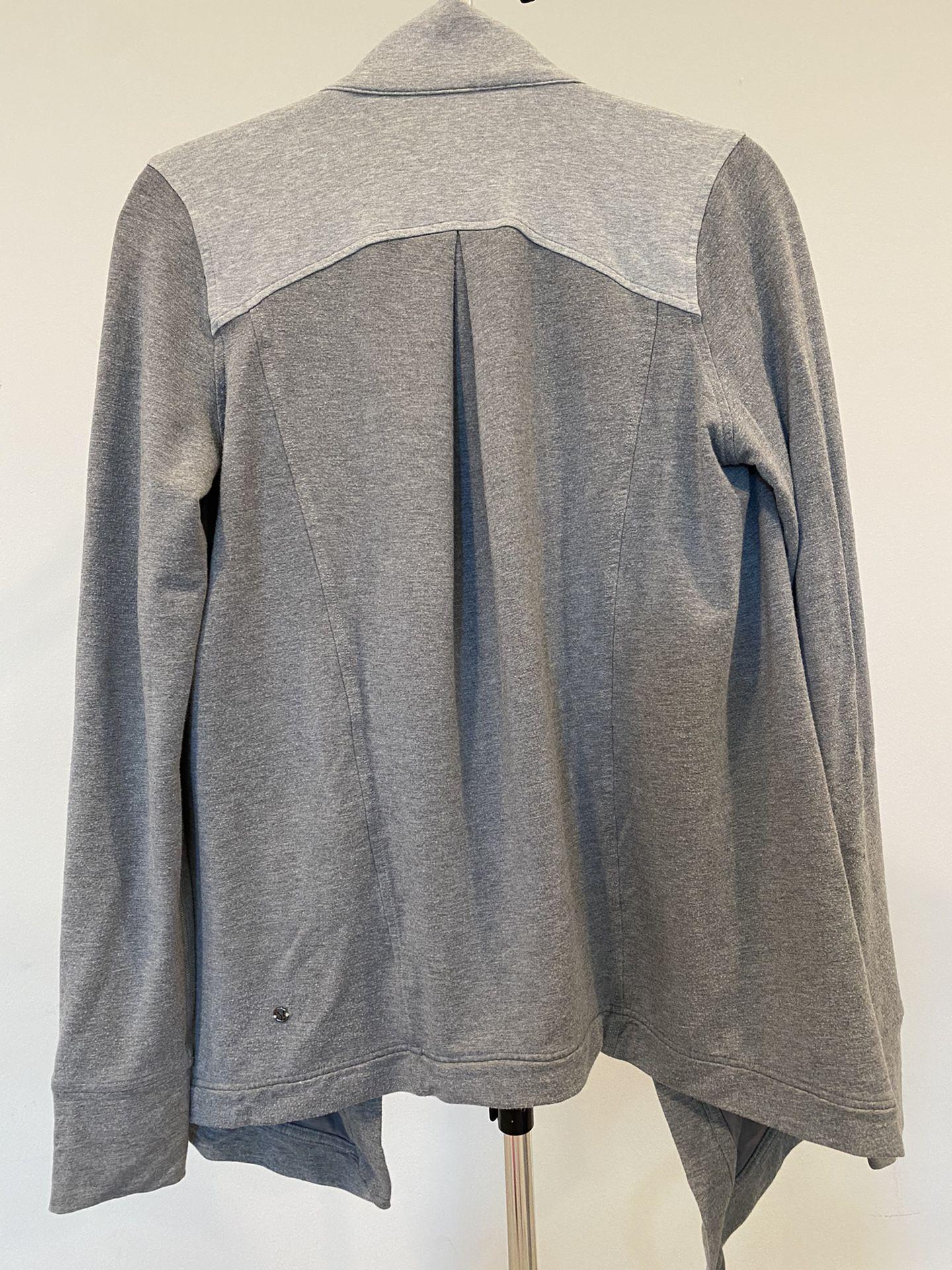 Lululemon Gray Wrap Sweater - Small