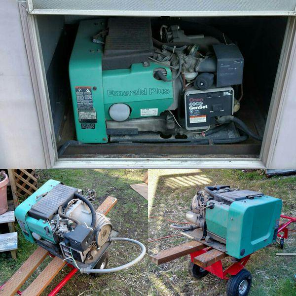 Onan Generator 4000 Schematic Onan Microlite 4000 Wiring: Onan 4000 RV Generator For Sale In Gold Bar, WA