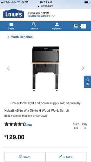 Superb Kobalt Workbench For Sale In Ventura Ca Offerup Unemploymentrelief Wooden Chair Designs For Living Room Unemploymentrelieforg
