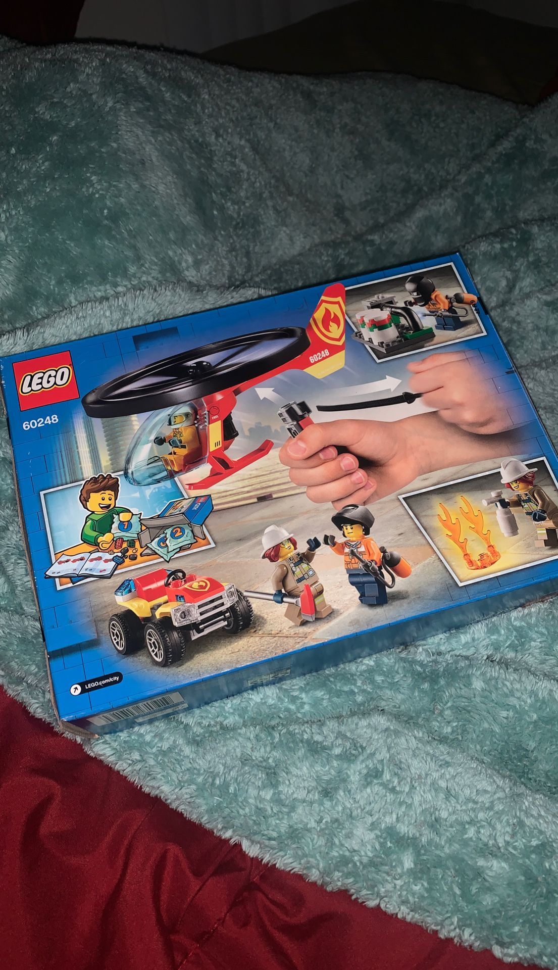 LEGO City Fire Helicopter Response 60248. NEW!