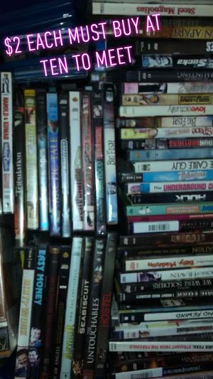 Used Dvds For Sale >> New And Used Dvd For Sale In Easley Sc Offerup