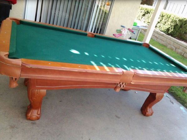 ESPN Bristol Classic Pool Table For Sale In West Covina CA OfferUp - Classic billiard table