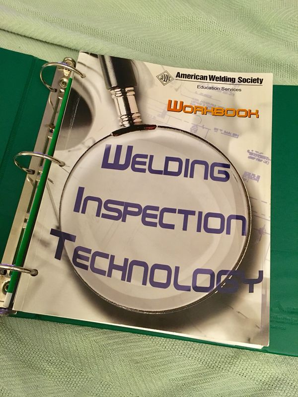 American Welding Society CWI Prep Code Books Study Guides for Sale in  Highland Heights, OH - OfferUp