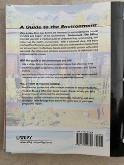 Environment 5th eEdition Wiley Plus Raven Berg Thumbnail