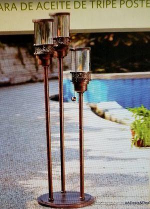 New Bronze Swimming Pool 3 Tier Oil Bug Lamp for Sale in Virginia Beach, VA