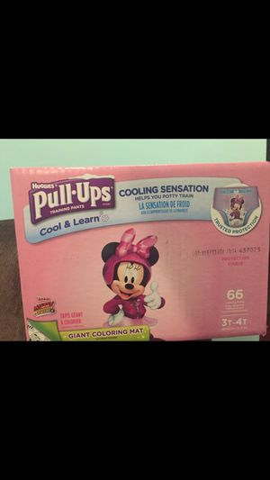 Pull ups size 3t-4t $22 price is firm for Sale in Silver Spring, MD