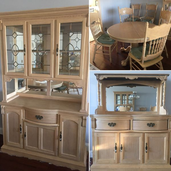 Quality Solid Wood Dining Room Set