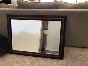 Wood frame mirror for Sale in Glen Allen, VA