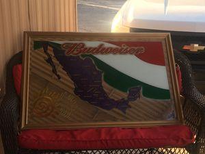 Budweiser/Mexico mirror for Sale in Phoenix, AZ