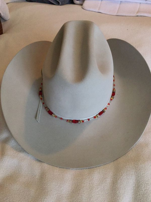 Show Sparkle beaded adjustable Western Hat Bands - great for Horse shows! 361fef21f2c