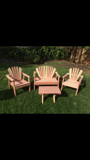 Redwood Patio Furniture For In Concord Ca