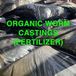 Organic Worm Castings (Plant Fertilizer and Pesticide) Thumbnail