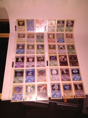 Pokemon card collection for Sale in Milton, WA