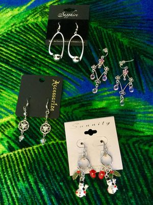 Assorted fashion earrings / Select the style you love / each is priced separately new jewelry for Sale in Lincolnia, VA