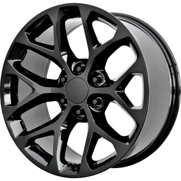 """24"""" Black Snowflakes Wheels For Sale In Pico Rivera, CA"""