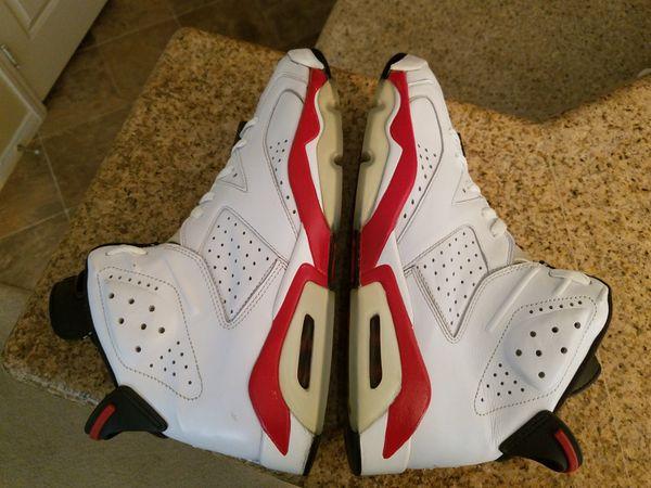 94665f0865fd1e Air Jordan 6s White Varsity Red-black for Sale in Las Vegas