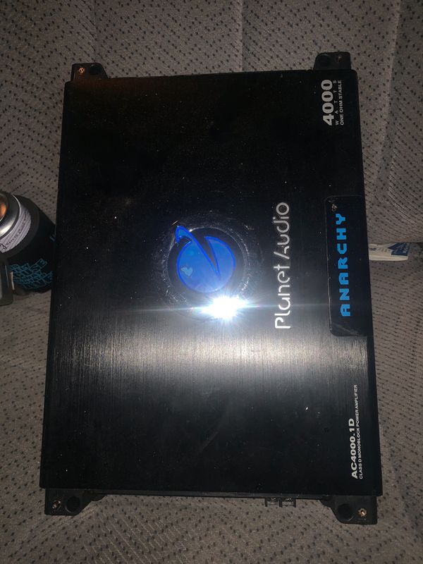 Planet audio 4000 watt class d, and a pioneer 800 watt rms class d 1 ohm  stable for Sale in Mocksville, NC - OfferUp