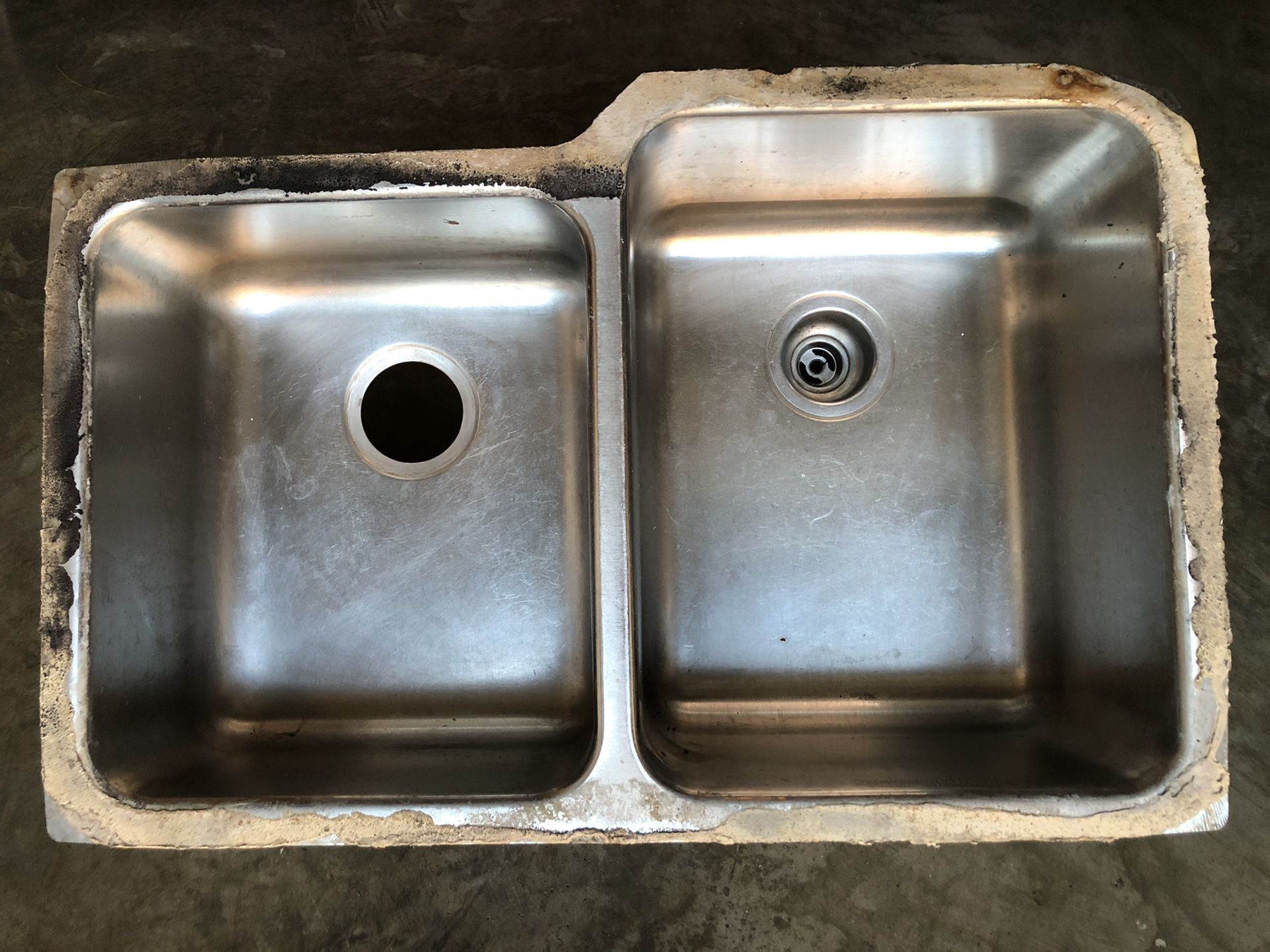 Kitchen Under-Mounted stainless steel double sink
