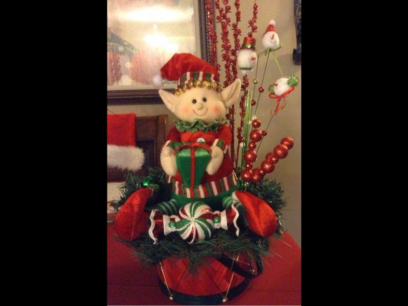 Christmas centerpiece 🎄🎅