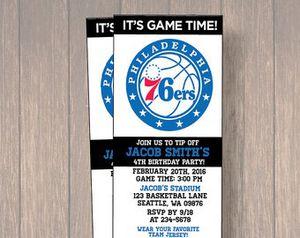 Saturday April 14th 76er ticket for Sale in Philadelphia, PA