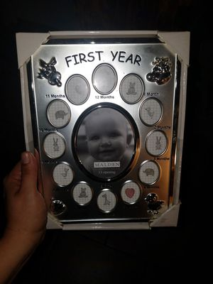 Babies 1st year photo album for Sale in York, PA