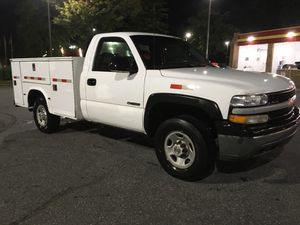 2002 Chevy Silverado hd 2500 utility bed runs n looks great 150k for Sale in Germantown, MD