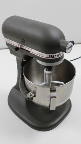 Kitchenaid Proline Ksm5 325 Watts Gray Matte Bowl Lift 5