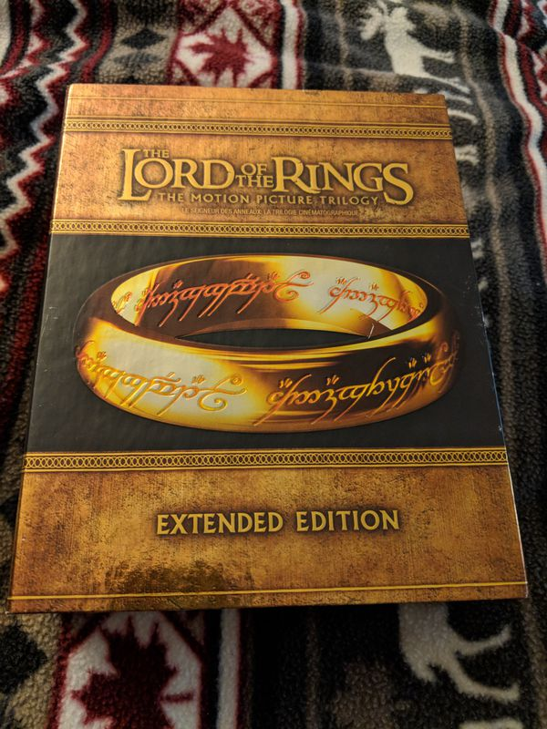 Lord of the Rings Blu-ray Extended for Sale in Pacifica, CA - OfferUp