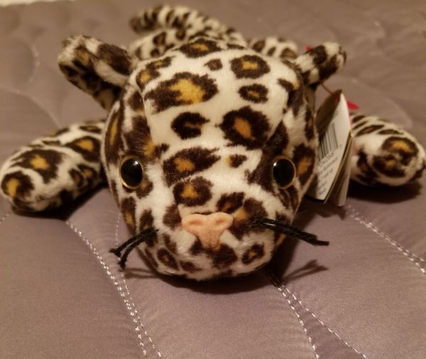 TY Beanie Baby Freckles the leopard 81cfa8b81d02