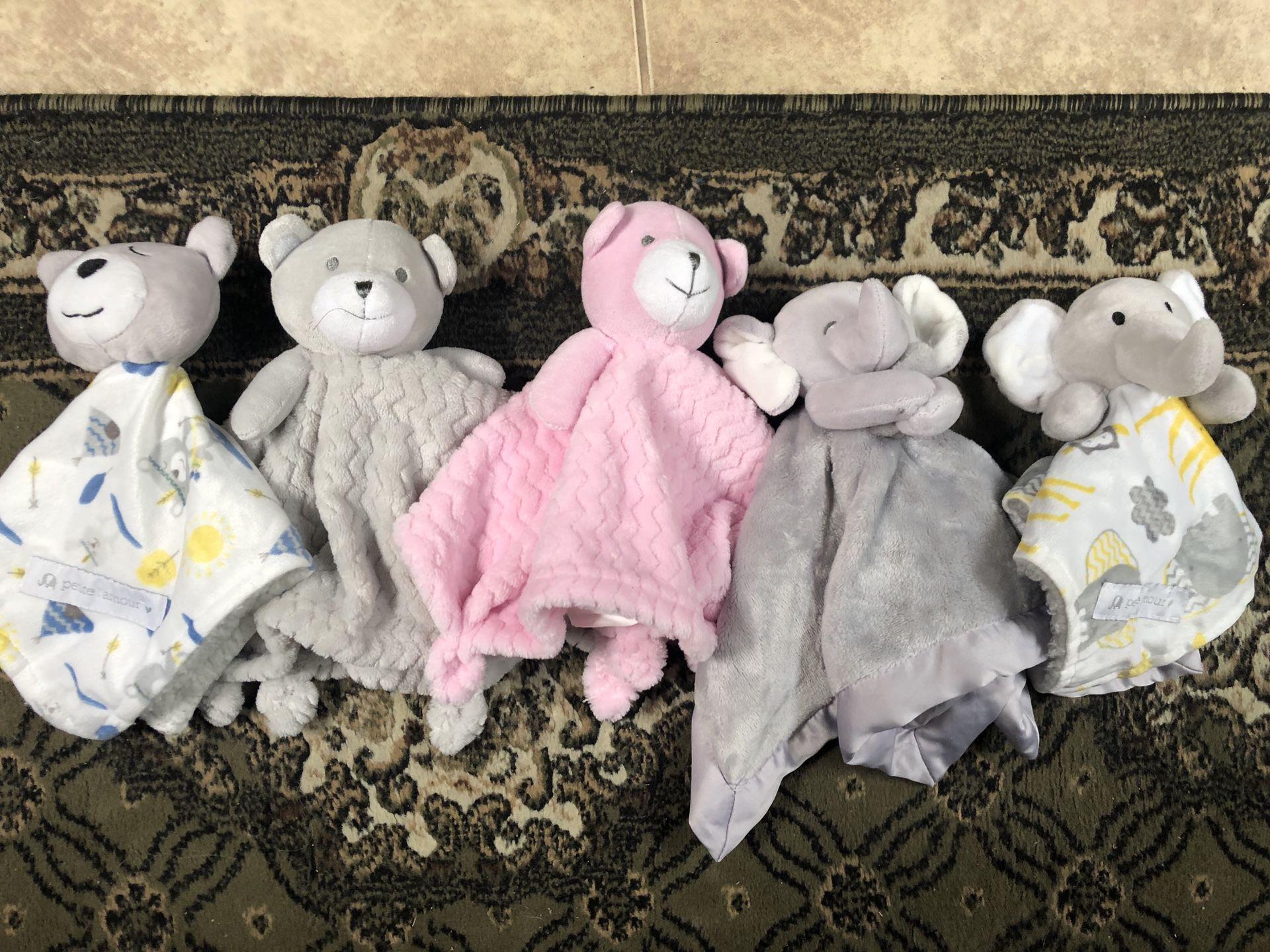 Baby lovies/stuffed animals