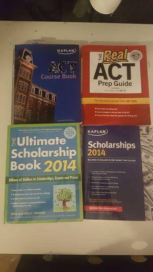 ACT prep books for Sale in Detroit, MI