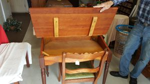 Antique desk, refinished!! for Sale in Lynchburg, VA