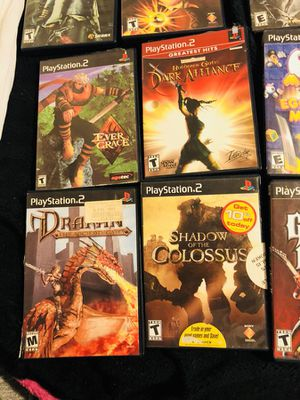 14 Games Playstation 2 .... all for only $40. Originals good condition for Sale in Alexandria, VA