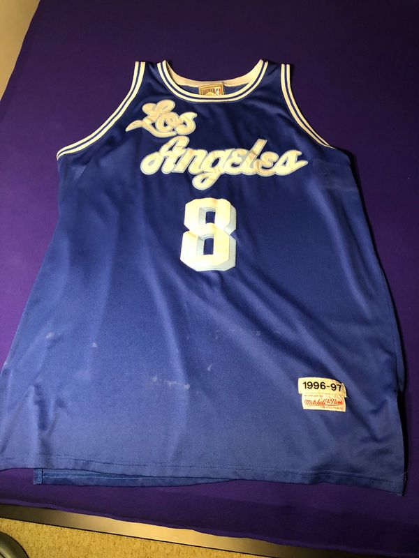 new concept bb013 bd5b7 Hardwood classic Kobe Bryant #8 jersey for Sale in Virginia Beach, VA -  OfferUp