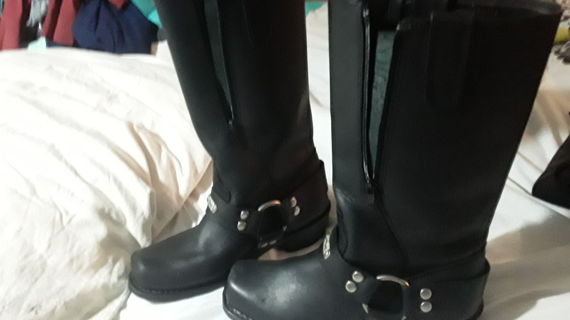 Motorcycle riding boots size 7