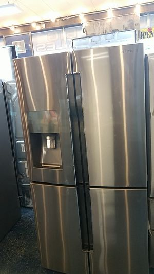 Samsung 4 Door stainless steel fridge for Sale in OH, US