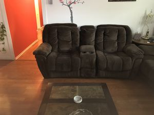 loveseat and sofa recliner for Sale in College Park, MD