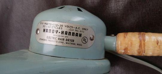 Vintage Hair Dryer. Thumbnail