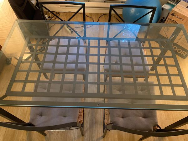 Excellent Ikea Granas 4 Chair Dining Table For Sale In San Jose Ca Offerup Beutiful Home Inspiration Aditmahrainfo