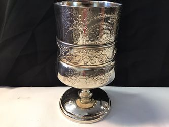 The acme silverplate goblet Thumbnail