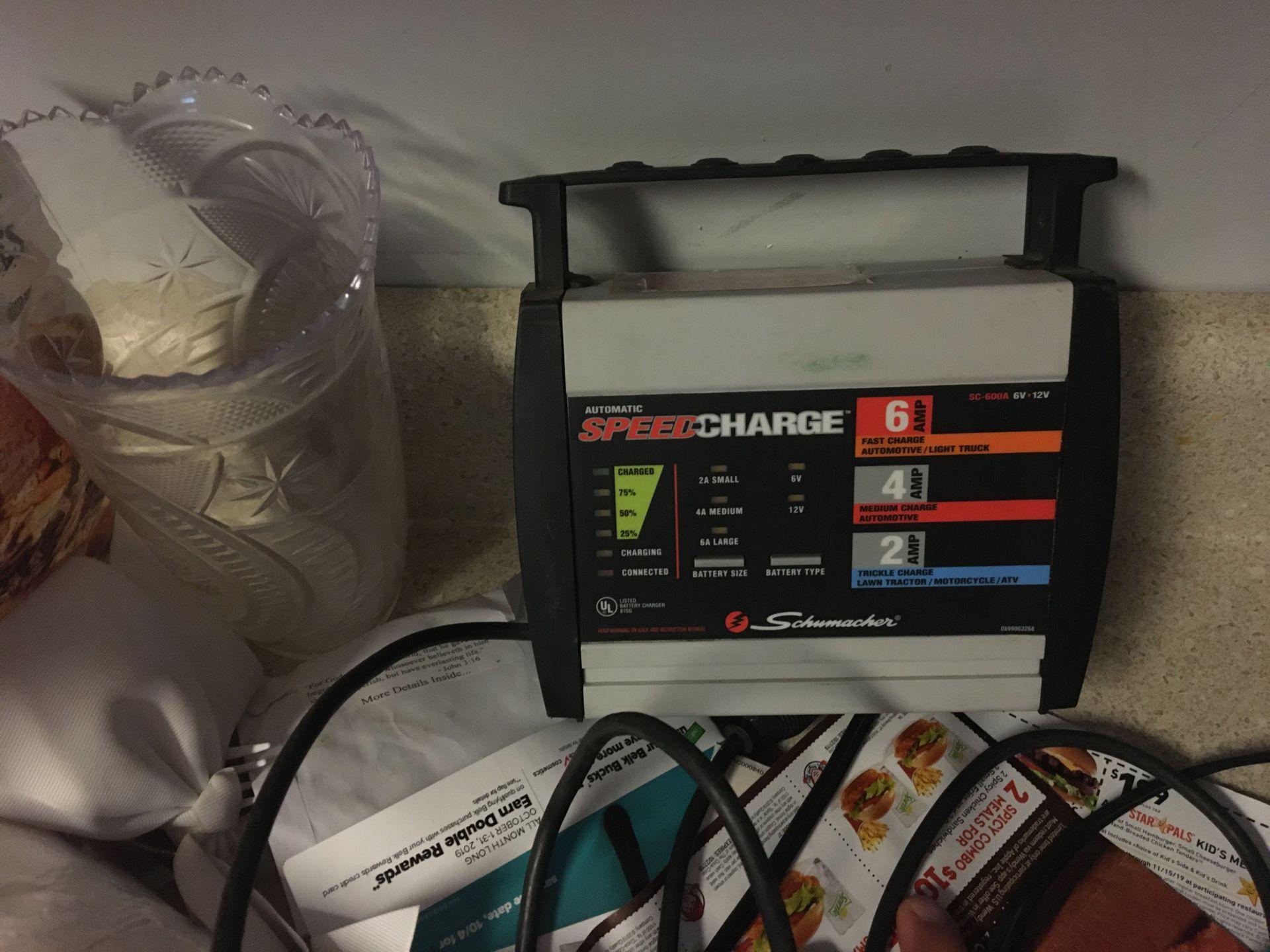 Audio maximum speed charge