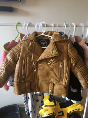 Toddler/Infant authentic Leather jacket 🧥 for Sale in Washington, DC