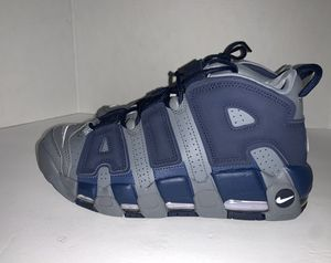 Photo Nike Men's Air More Uptempo '96 Georgetown Hoyas Shoes (Cool Grey) Mens Size 7.5